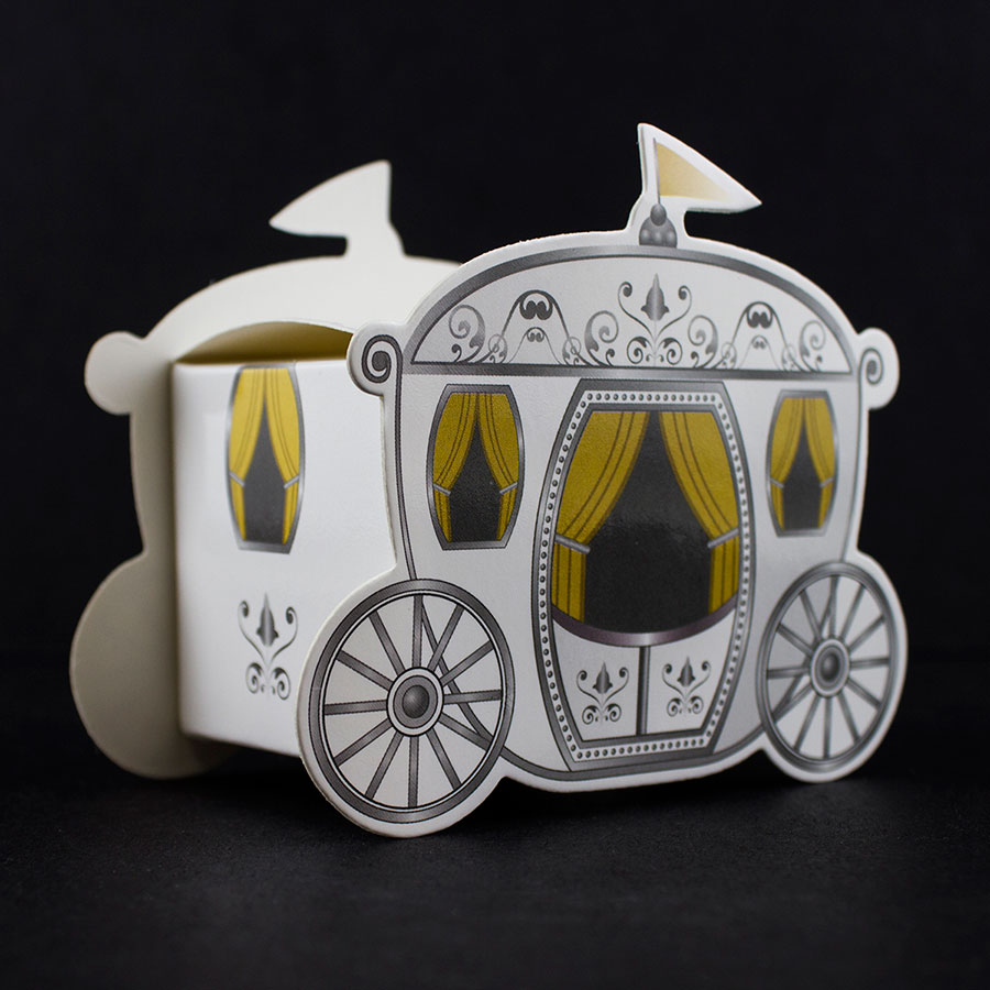 Ifavor123 Fairy Tale Wedding Enchanted Carriage Favor Boxes