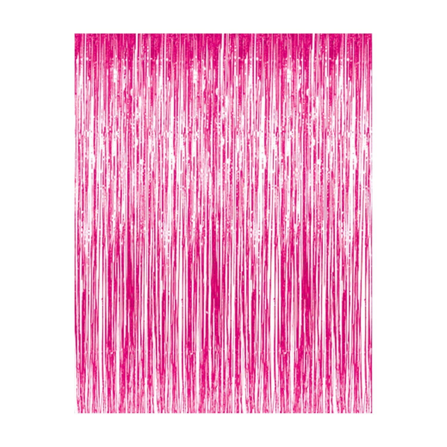 Metallic Foil Tinsel Fringe Curtains Photo Backdrop
